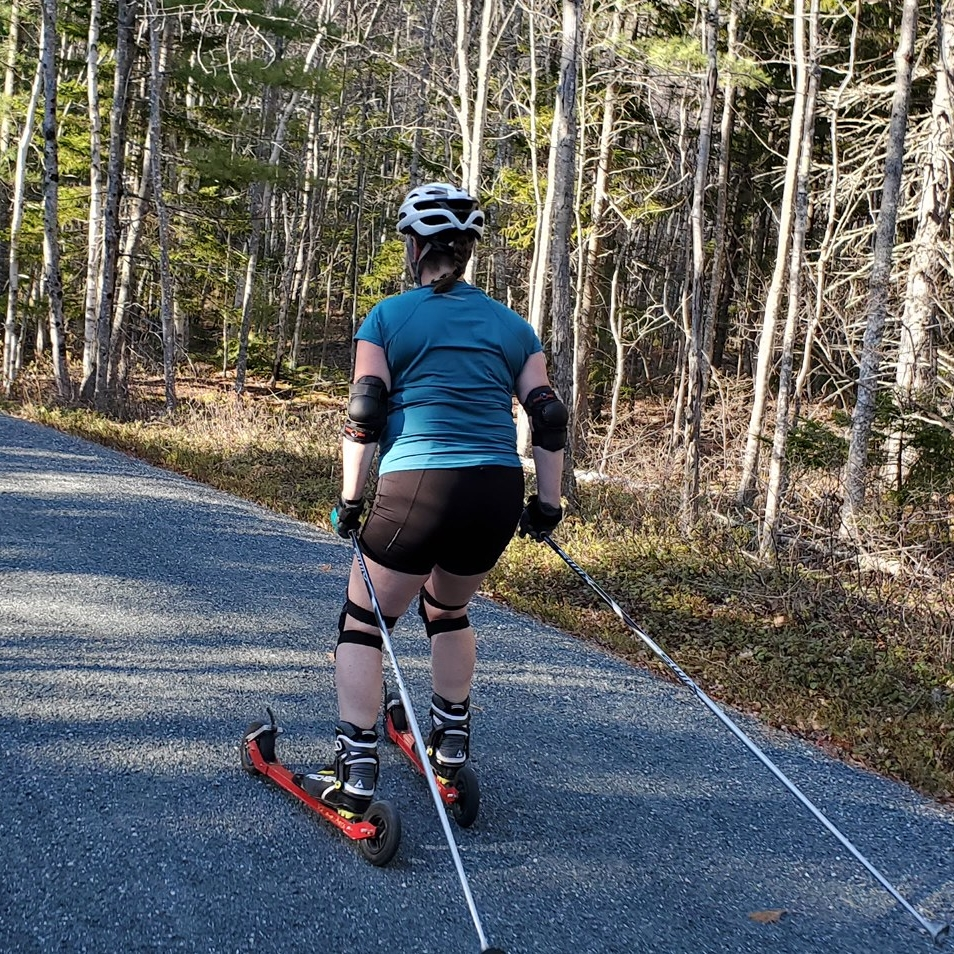 Roller Skis! I was brave enough to try them!