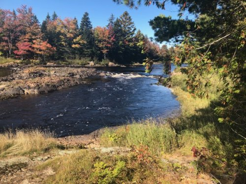 Munson's Pitch on the Machias River