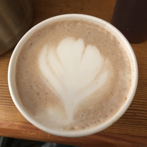 Spicy Mexican Hot Chocolate, the perfect recovery drink on a crisp day.
