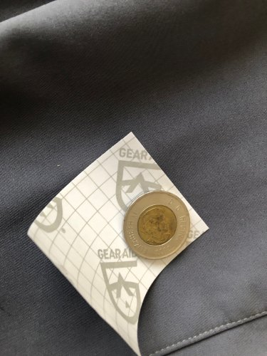 Circular patches don't have corners that can cause patches to peel. Tracing a coin gives you an easy guide.