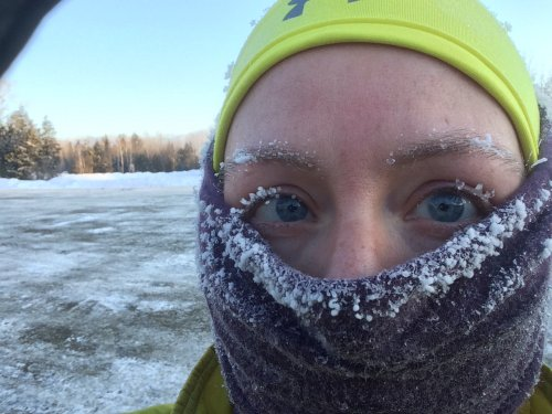 We've always masked in Maine winters, so we have no doubts about getting enough oxygen. Facts, not fear.