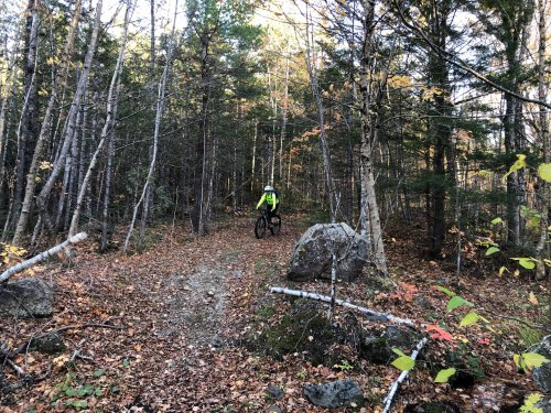 This section of the IAT welcomes mountain bikers, so bring a friend!